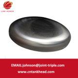 02-06 testa piana polacca con acuta della grande parete spessa dell'acciaio inossidabile 3500mm*40mm