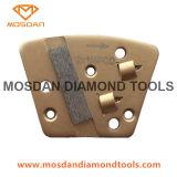 Ultrafloor Diamatic Blastrac Beschichtung-Abbau-Diamant-Hilfsmittel des Paralleltrapez-Schaber-PCD