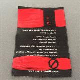 Nueva moda ecológica producir prendas de vestir rectángulo etiqueta tejida