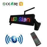 APP controllo di Bluetooth/di telecomando mini LED marchio di colore completo con la tazza/parentesi/fasciatura/barra/marchio da tavolino di aspirazione di Scrolling del messaggio del comitato del LED