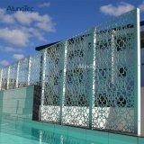 заводская цена PE из алюминия с покрытием из шпона в бассейн