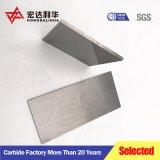 K10 K20 de carburo cementado las piezas de desgaste de la placa de carburo de tungsteno