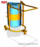 300 кг Грузоподъемность погрузчика барабана для мобильных ПК, обработчик барабана HD80b