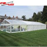 20X50m屋外党結婚式のテントの透過側面が付いているロマンチックな水晶結婚式の玄関ひさし