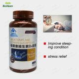 Bien dormir la mélatonine Capsule Softgel 60 Capsule/bouteille, la dépression soulager Anti-Fatigue Mélatonine et capsule de vitamine B6