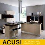 Conseil de Mélamine MDF Laque populaire des armoires de cuisine (ACS2-W208)