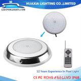 Parete 316ss montato superficie di Huaxia IP68 nell'ambito dell'indicatore luminoso della piscina dell'acqua LED