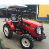 25HP, 30HP, 40HP, 45HP, 50HP, 55HP tracteur de ferme avec timon, charrue, chargeur frontal