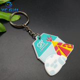 La promotion de l'anneau de clé personnalisée bon marché avec le libre-Art Design (KC-P33)