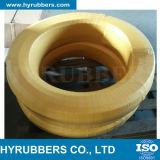 Reforço flexível da trança de matéria têxtil que faz a maquinaria a mangueira hidráulica R3