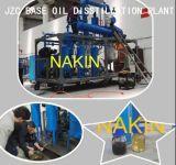 El petróleo mezclado inútil de 30 toneladas destila a la nueva refinería de petróleo baja amarilla