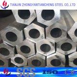 6061 6.063 7075 perfil de alumínio anodizado com superfície em embalagem de papel