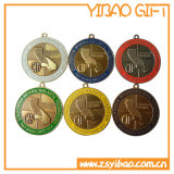 Oferta de esmalte metal de alta calidad de la medalla de oro con la barra de metal para el recuerdo (YB-M-002).