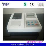 인쇄 기계를 가진 토양 비옥 NPK 검사자 토양 영양이 되는 미터