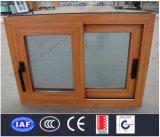 Bessere QualitätWoodgrain Belüftung-schiebendes Fenster (BHP-SW13)