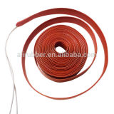 Bateria Silicone Rubber Strips Heater 12V 2.5W 70 * 300 * 1.5mm