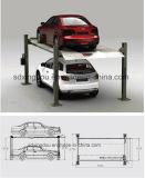 4 подъема упаковки автомобиля столба/подъем стоянкы автомобилей гидровлический