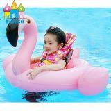 赤ん坊Kisの膨脹可能な白鳥のフラミンゴのプールはおもちゃの水泳のリングを浮かべる