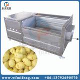 ステンレス鋼のブラシのタイプルート野菜の洗浄の皮機械