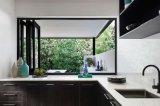 Alumínio vitrificado das vendas dobro quente que dobra Windows e portas