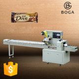 Envoltório material do fluxo da máquina de embalagem da barra de chocolate do produto comestível