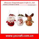 Украшение ткани полиэфира рождества украшения рождества (ZY14Y201-1-2-3)