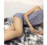 숙녀 섹시한 편물 조끼 자라목 스웨터 Tanktop