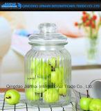 Bac à nervures de conteneur de cuisine de configuration de beauté pour la nourriture, bonbon, épice