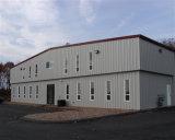 큰 경간 강철 구조물 Prefabricated 창고 작업장 격납고 건물