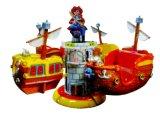 Vrolijke Schip van de Piraat van het jonge geitje gaat het Roterende om de Rit van het Park van /Amusement (LF01)