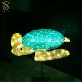 Outdoor Decorationのための3D Sculpture Lights Fish