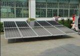Eficacia alta 10kw del sistema eléctrico solar de la red para el uso casero
