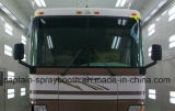 Cabina larga excelente y de la alta calidad de la calefacción infrarroja del omnibus de aerosol