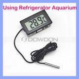 Schwarzes/White Refrigerator/Aquarium Thermometer Digital Thermometer mit Probe