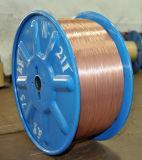 China Fabricante de arame de aço revestido de cobre (Fio CCS 1.02mm)