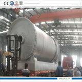 Plastique de rebut de pyrolyse d'usine de raffinage au carburant-