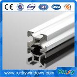 Revestimiento de polvo 6063 Perfil de aluminio para puertas y ventanas