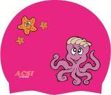 想像の水泳の帽子の海洋動物の最もよい品質および価格の水泳帽