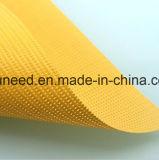 Tela de acoplamiento revestida del PVC del alto vinilo colorido de la tenacidad para el toldo