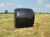 enveloppe soufflée noire d'ensilage de 500mm*1800m