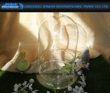 ガラスベースが付いているOEMのClocheのドームのガラス蓋のガラス製品