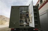 En contenedores de nitrógeno que hace la máquina