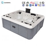 Modieuze Outdoor Portable Rectangular SPA Hete Ton voor een Familie van Persoon 5