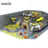 Splendide espace de conception Thème de la station d'enfants Terrain de jeux intérieur