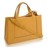 De modieuze Gele Zak van de Greep van de Handtas van Pu voor Vrouwen