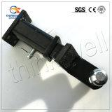 Der Schwarzes angestrichene kombinierte LKW zerteilt Anhängevorrichtungs-Kugel