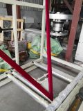 China Plástico automático PE plegable y rebobinadora
