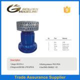 Válvula de aspiração Ductile do ferro de molde com filtro