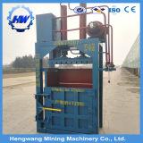 Ropa usada paca hidráulica Máquina/máquina empacadora de prensa