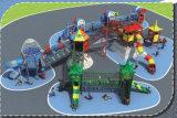 Grande cour de jeu extérieure Playsets HD-009A de glissière de combinaison